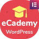 eCademy – Elementor LMS & Online Courses Theme - Learning Management System WordPress Theme